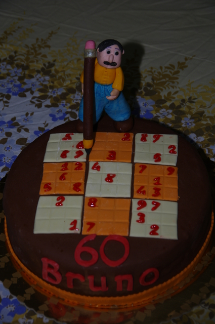 torta sudoku5-vista dall'alto
